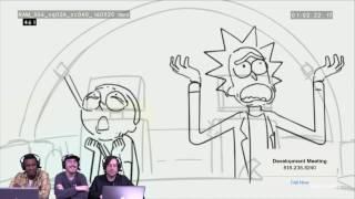 Rick and Morty Season 3 Sneak Peek on Development Meeting | Adult Swim