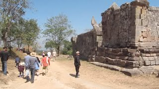 Preah Vihear Temple at Preah Vihea Province in Cambodia