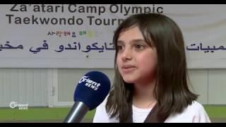 عائلة سورية في الأردن تلعب التايكواندو وتحرز ميداليات ذهبية