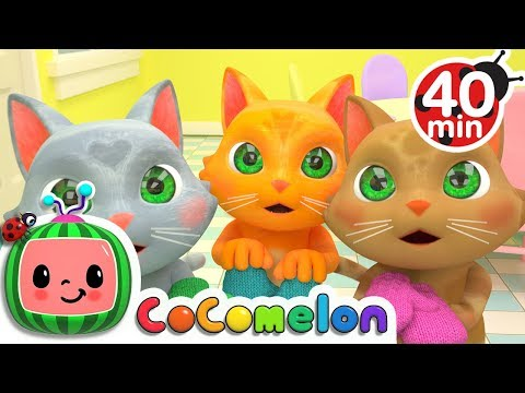 Xxx Mp4 Three Little Kittens More Nursery Rhymes Kids Songs ABCkidTV 3gp Sex