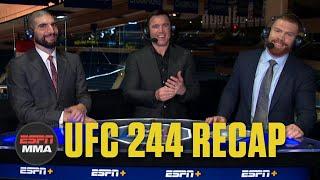Jorge Masvidal beats Nate Diaz via doctor stoppage | UFC 244 Recap | ESPN MMA