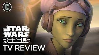 "Star Wars Rebels Season 4 Episodes 7 & 8 ""Kindred"" & Crawler Commanders"" Review"