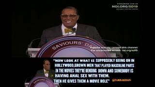 Min.Farrakhan exposes the Babylonian Talmud /Hollywood Anal Sex Practice