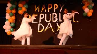 Awesome dance performance by UPHSD Indians- Republic day