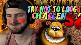 Vapor Reacts #787 | [FNAF SFM] FIVE NIGHTS AT FREDDY'S TRY NOT TO LAUGH CHALLENGE REACTION #54