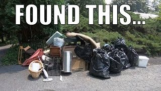 WHY WOULD YOU THROW THIS IN THE TRASH? - Trash Picking Ep. 169