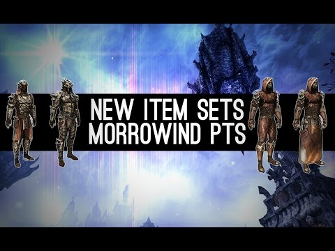 New Item Sets - Morrowind PTS ESO Elder Scrolls Online