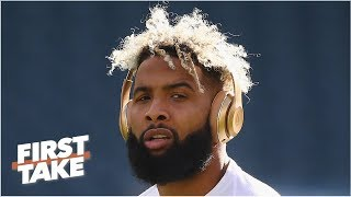 The Giants deserved to get called out by Odell Beckham Jr. - Stephen A. | First Take
