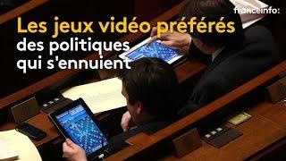 Les jeux vidéo préférés des politiques qui s'ennuient - franceinfo: