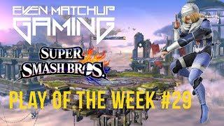 EMG Smash4 Play of the Week 2017 - Episode 29 (SSB4, Super Smash Bros. Wii U)