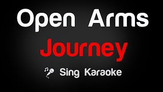 Open Arms - Journey (Karaoke without Vocal)
