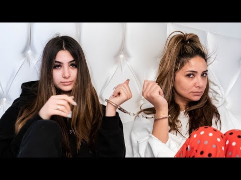 HANDCUFFED TO MY MOM FOR 24 HOURS