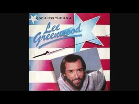watch LEE GREENWOOD - GOD BLESS THE USA 1984