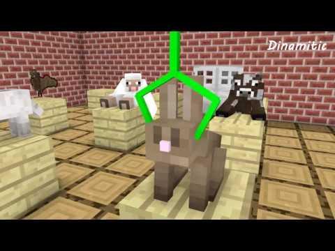 Monster School: Animal Brain - Minecraft Animation