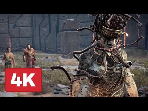 Taking Down Medusa in Brand New Assassin s Creed Odyssey Gameplay 4K
