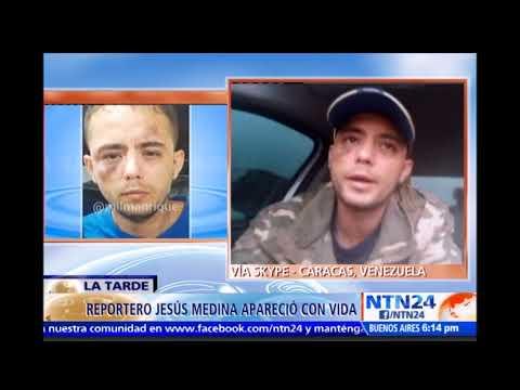 Jesús Medina secuestrado durante tres días habló en exclusiva a NTN24 Informar no es un delito