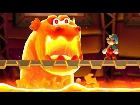 New Super Mario Bros U All Castle Bosses