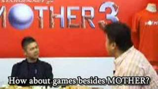 Itoi Talks about MOTHER 4