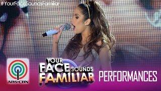"Your Face Sounds Familiar: Maxene Magalona as Ariana Grande - ""Break Free"""