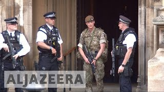 Armed soldiers deployed across UK streets in wake of Manchester attack