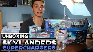UNBOXING | Skylanders Superchargers | PS4