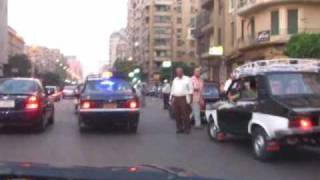 Nothing like traffic in Cairo Egypt