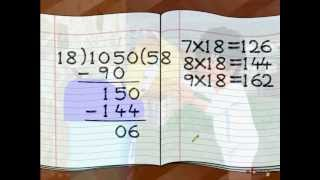 Maths - How To Divide By Two Digit number - Hindi