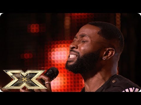 An emotional performance from J Sol Auditions Week 4 The X Factor UK 2018