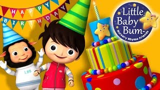 Happy Birthday Song | Original Song by LittleBabyBum!