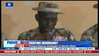 Fighthing Insurgency: Troops Rescue Hostages In Borno State