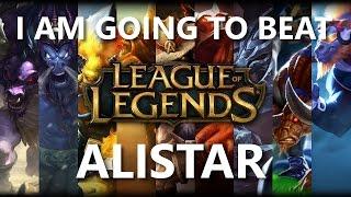 Trinimmortal beats League: Alistar