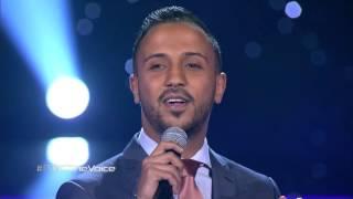 #MBCTheVoice - غسان بن ابراهيم  - ابتعد عني  - مرحلة العروض المباشرة