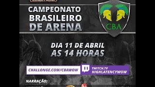 1º Campeonato Brasileiro de Arenas do WoW com Jiraya e Neves.