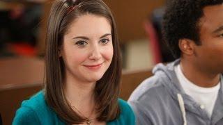 Alison Brie (Community Season 3) Interview - March 2012