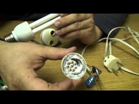 Светодиоды для ламп своими руками 245