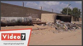 توقف مشروع الصرف الصحى بالحجاز بالإسماعيلية