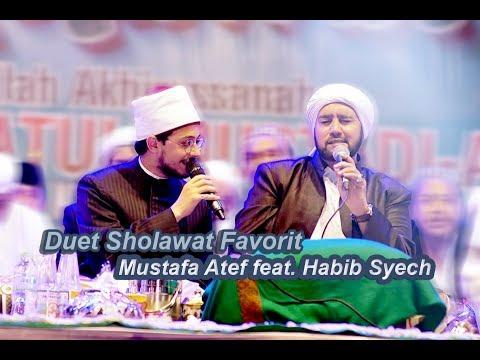 (HD) Duet Sholawat Favorit Mustafa Atef feat. Habib Syech - Lirboyo Bersholawat (Terbaru)