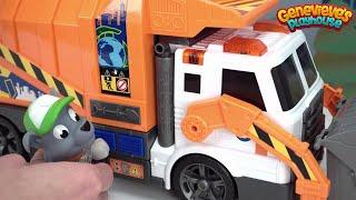Surprise Toys for Kids Shopkins, Star Wars, Woodzeez - Paw Patrol Recycle Truck Mystery Kids Video!