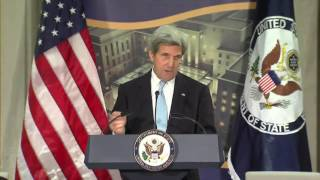 Remarks by 68th Secretary of State John Kerry