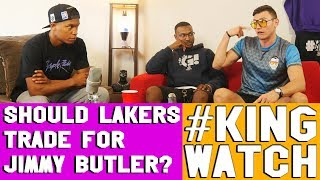 Should Lakers Trade For Jimmy Butler ? | Hoops N Brews