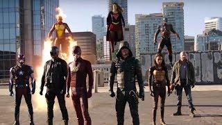 Invasão - Crossover DC/CW - melhores cenas