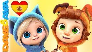 🎻 Canciones para Niños | Canciones Infantiles y Canciones para Bebés de Dave y Ava 🎻