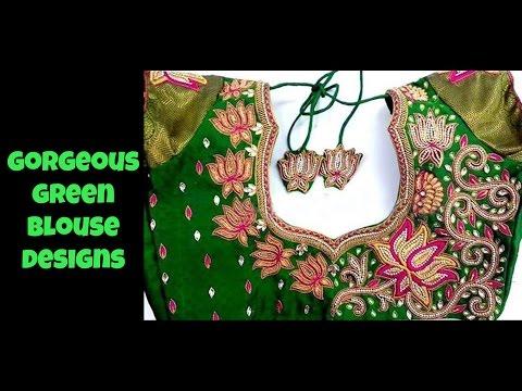 Xxx Mp4 Gorgeous Green Blouse Designs 3gp Sex