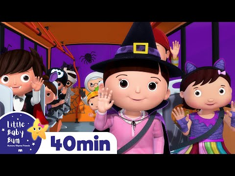 Xxx Mp4 Halloween Special Compilation Wheels On The Bus More Halloween Songs For Kids Little Baby Bum 3gp Sex