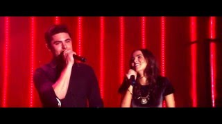Zac Efron and Zoey Deutch sing