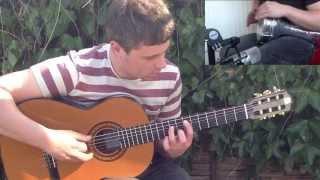 Ash Wainman Spanish Flamenco Guitar: Persia/Arabic