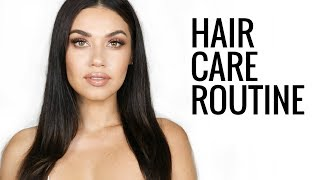 Hair Care Routine 2017 | Tips for Frizzy, Thick Hair | How to get Healthy, Gorgeous Hair