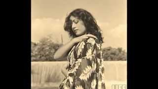 Madhubala Glamour Photoshoot by Life Magazine Photographer James Burke   1951