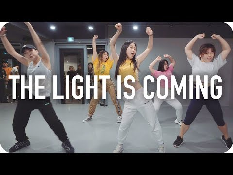 The Light Is Coming Ariana Grande Ft Nicki Minaj Soi Jang Choreography
