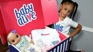 Baby Alive Real As Can Be Baby with Clothes and Accessories Imani